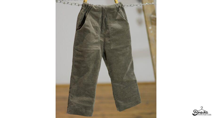bc990dab0c Keki zöld, gumis derekú, kordbársony, fiú nadrág - Fiú nadrág ...