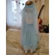 HERCEGNŐ/KIRÁLYNŐ jelmez, hercegnős TÜTÜ 43-70 cm-es hosszal választható, állítható derékkal (babakék)