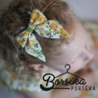 Sárga, apró virágos nyári ruha