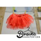 Hercegnős piros tütü
