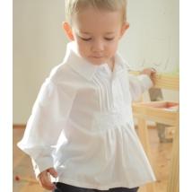 Fehér népi, fiú, paraszt ing