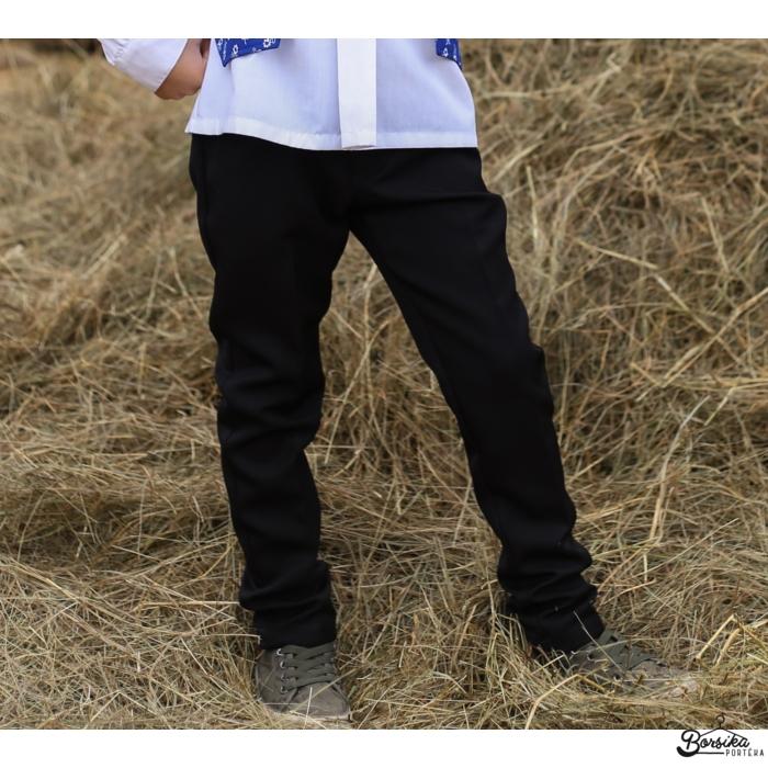 Borsika Portéka - Fekete fiú szövetnadrág